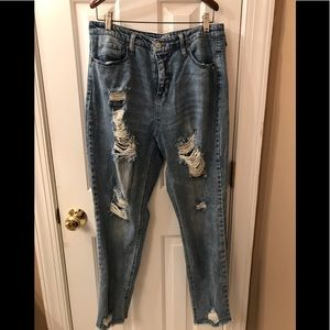 High waisted mom jeans. Size 12.
